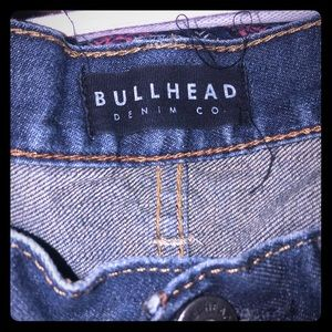 Men's bullhead jeans from the buckle like new